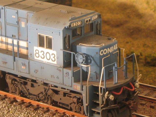 NS C40-8 in HO by Lenny Harlos