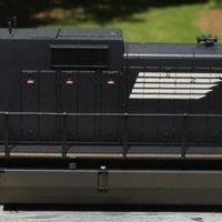 NS HO scale Dash-9 40C model by Jason Koglin