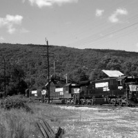 NS coal train at Tacoma, VA