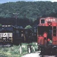 NS Dash-9 at Glamorgan, VA