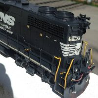 NS HO scale GP38-2 model by Jason Koglin