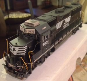 NS GP38-3 HO scale model by Jason Koglin