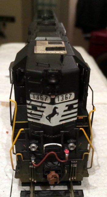 NS HO scale GP40 model by Jason Koglin