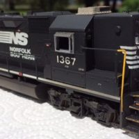 NS HO scale GP40 model by Jason Koglin