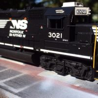 NS HO scale GP40-2 model by Jason Koglin