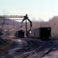 NS loader Mullins Coal at Norton, VA