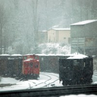 NS snow at Norton, VA