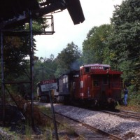 NS train at Bopar, VA