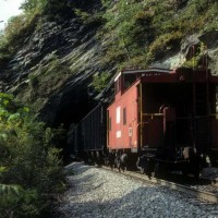 NS cab and tunnel, Big Stone Gap, VA