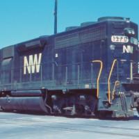 N&W GP40 1370, Bristol, VA