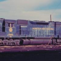 N&W SD40 1596