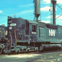 N&W SD40 1605, Toledo, OH