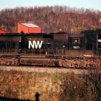 N&W SD40 1621, Tacoma, VA