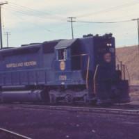 N&W SD45 1709