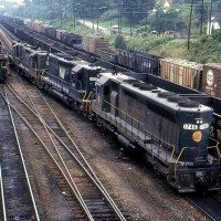 N&W SD45 1746, Bluefield, WV