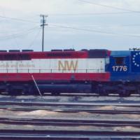 N&W SD45 1776 Bicentennial, Bellevue, OH