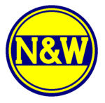 N&W Logo blue Plain
