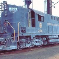 N&W RSD-12 256, Toledo, OH