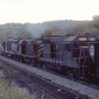 N&W GP35 2910 near Hanna, OH
