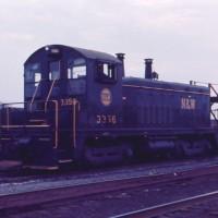 N&W SW-7 3356