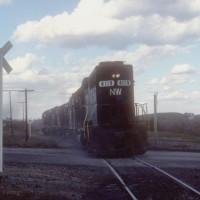 N&W GP40 4119, Cadiz, OH