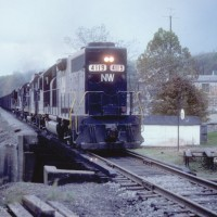 N&W GP40 4119, Georgetown, OH