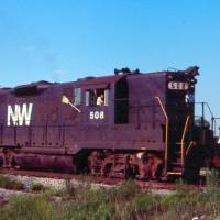 N&W GP9 508, Toledo, OH
