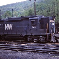 N&W GP30 543, Norton, VA