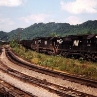 N&W SD40-2 6114, Carbo, VA