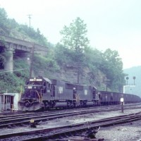 N&W SD50S 6502, Williamson, WV
