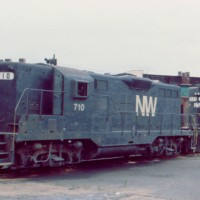 N&W GP9 710, Roanoke, VA