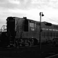 N&W GP9 728, Cincinnati, OH