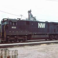 N&W C30-7 8023