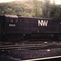 N&W U30B 8524, Norton, VA