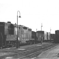 N&W GP9 957, Bristol, VA