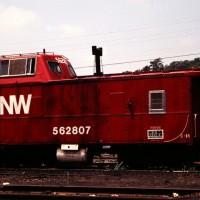 N&W C-18 caboose, Norton, VA