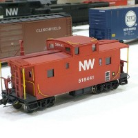 N&W C2 caboose in HO by Greg Davis