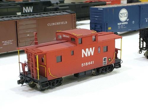 N&W C2 caboose in HO by Greg Davis