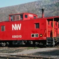 N&W C30 caboose, Norton, VA