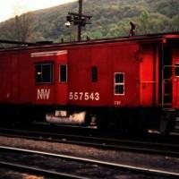 N&W C-6P caboose, Norton, VA