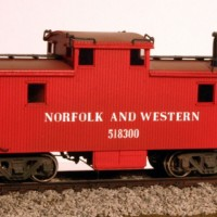 N&W caboose by Jerry Hammond