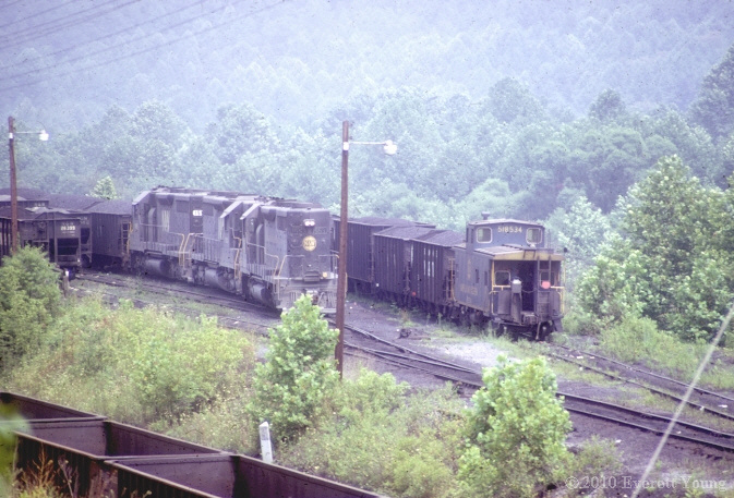 N W Switching Moss 3 Va Appalachian Railroad Modeling