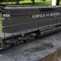 NW HO scale SD40-2 model by Jason Koglin