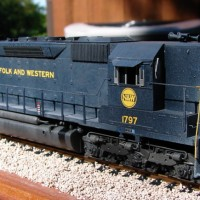 N&W SD45 in HO by Kevin Yackmack