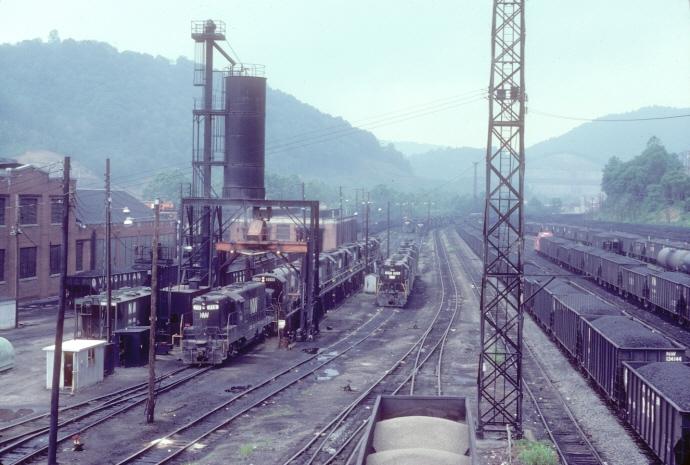 N Amp W Williamson Wv Engine Terminal Appalachian Railroad