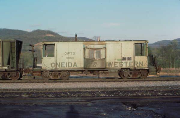O&W cab 9999 at Emlyn, KY