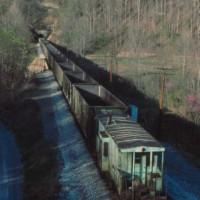O&W Green Train at Morley, TN