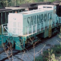 Shamrock Coal Company switcher, Clover, KY