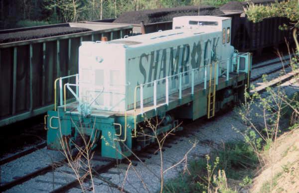 Shamrock Coal Company switcher, Clover, KY