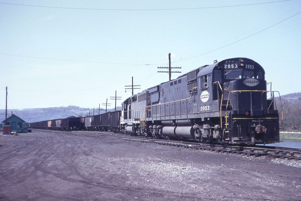 PC C430 2053 at Clearfield, PA